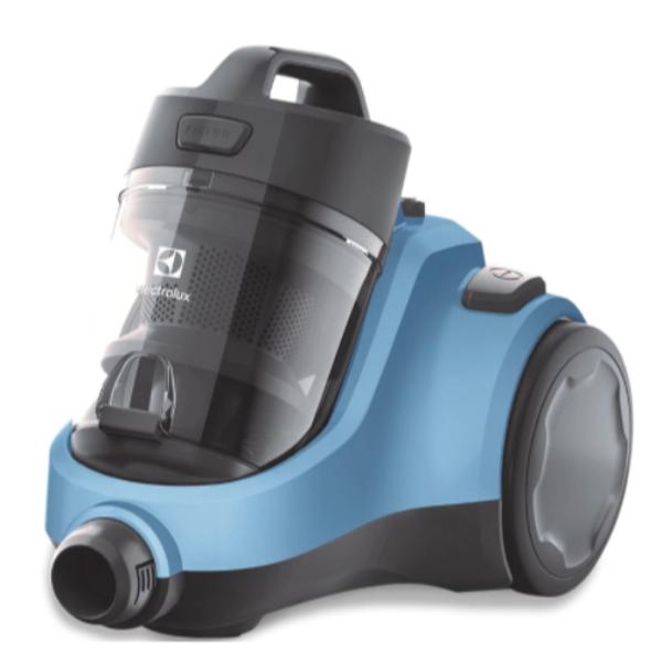 ELECTROLUX 雙層氣旋免塵袋式吸塵機 EC31-2BB/湖水藍