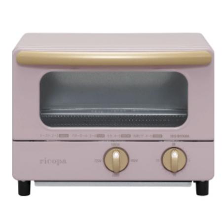 IRISOHYAMA [S/i]RICOPA迷你焗爐 EOT-R021粉紅