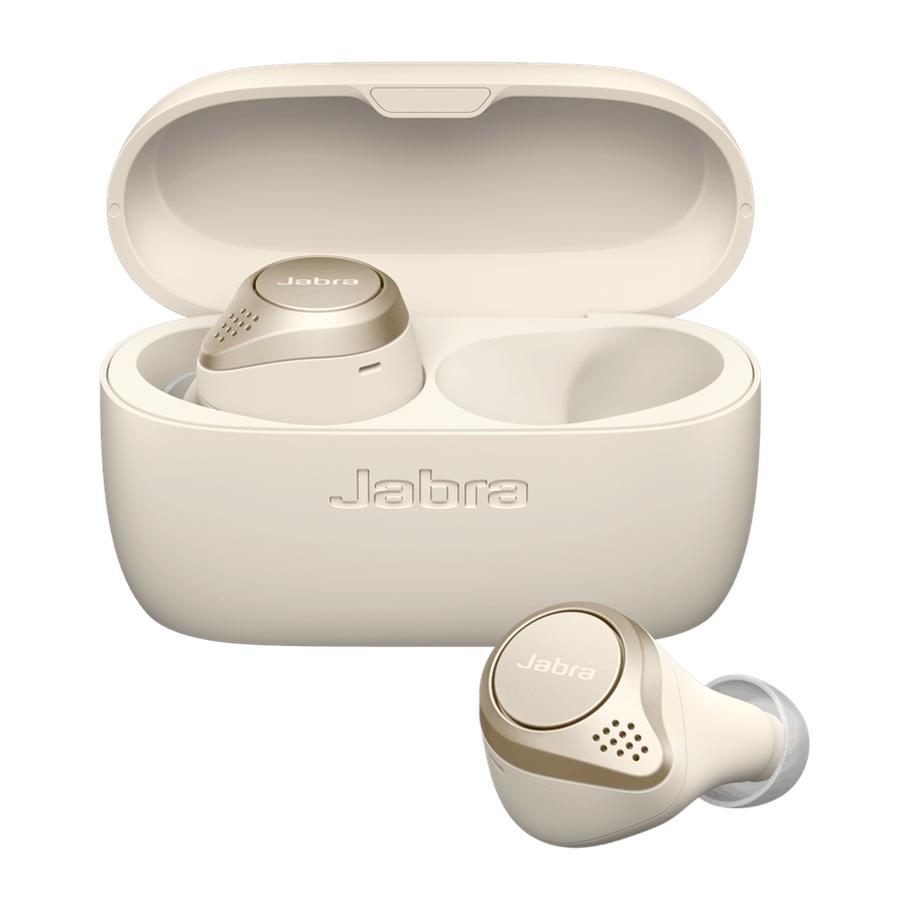 Jabra 藍牙耳筒 Elite 75t Gold Beige 100-99090002-40