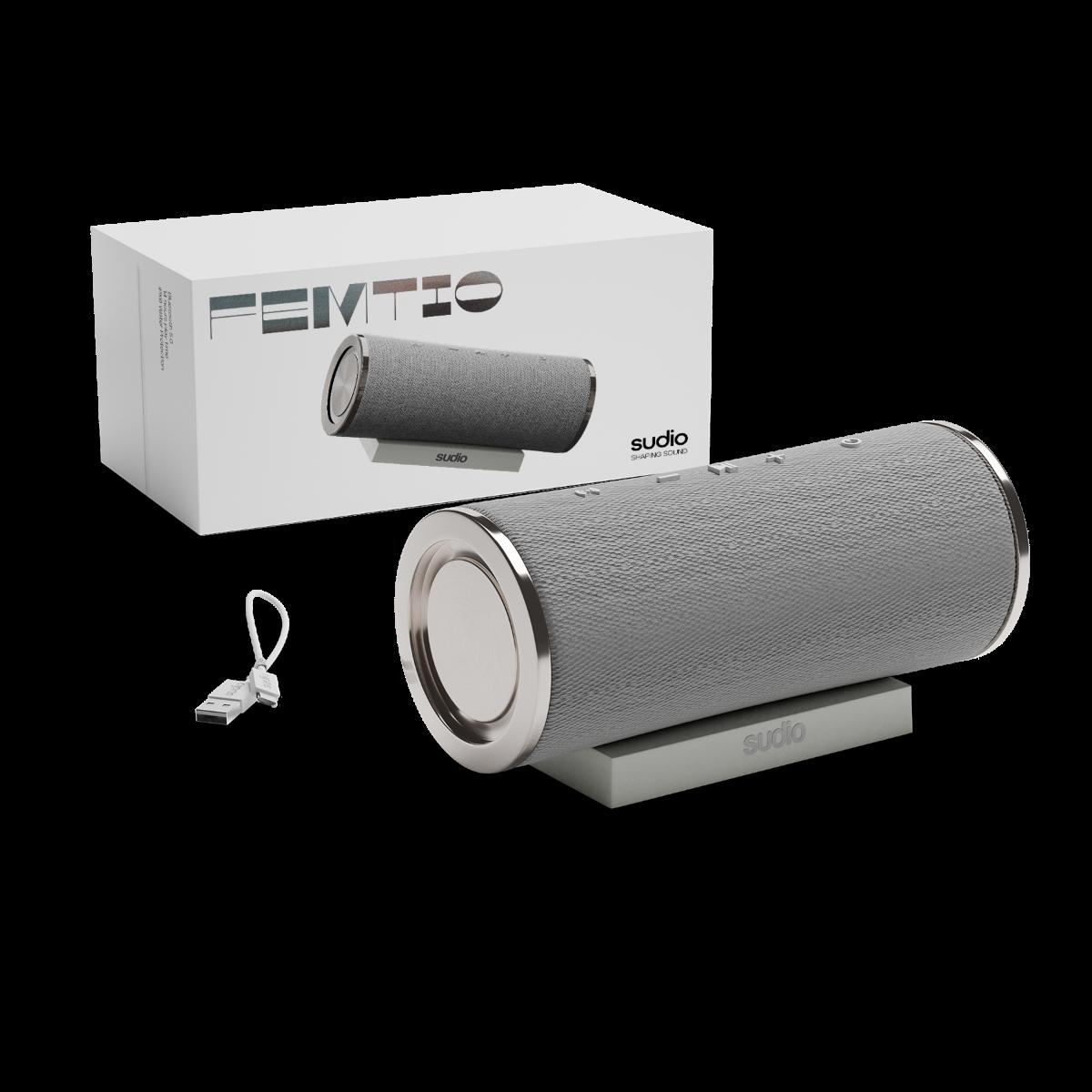 sudio Femtio Bluetooth Speaker White