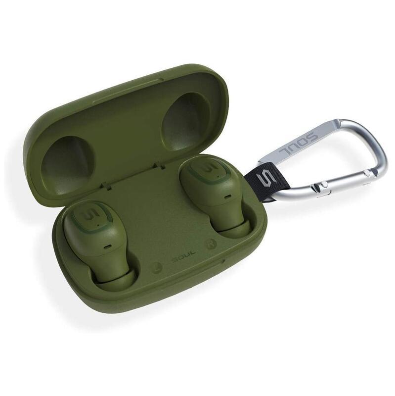 SOUL S-Gear True Wireless Earphones Green