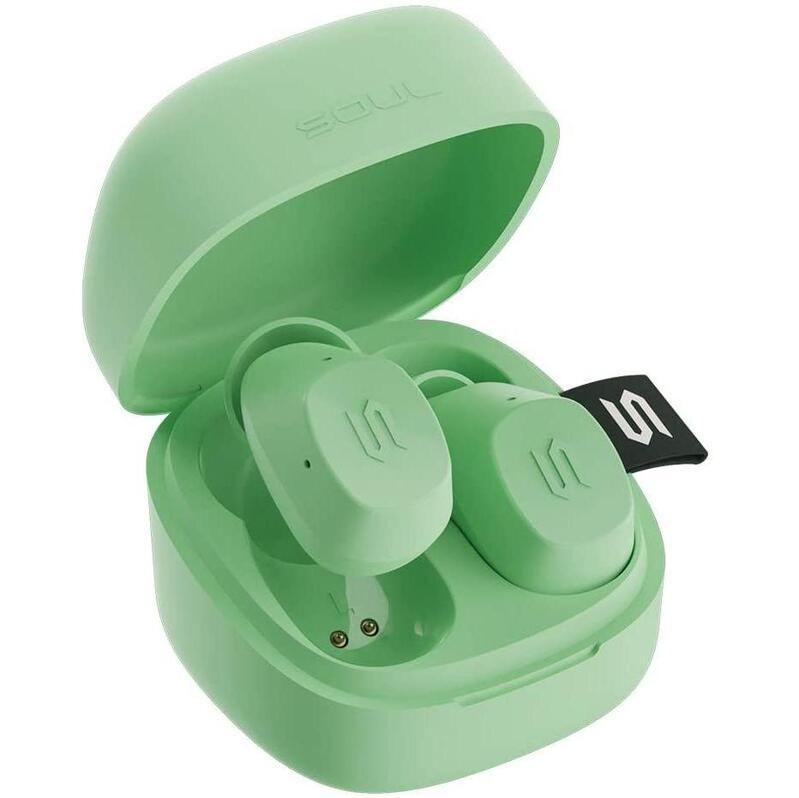 SOUL S-Nano True Wireless Earphones Lime