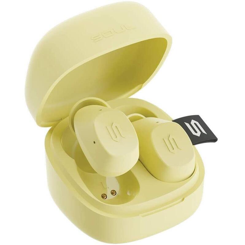 SOUL S-Nano True Wireless Earphones Yellow