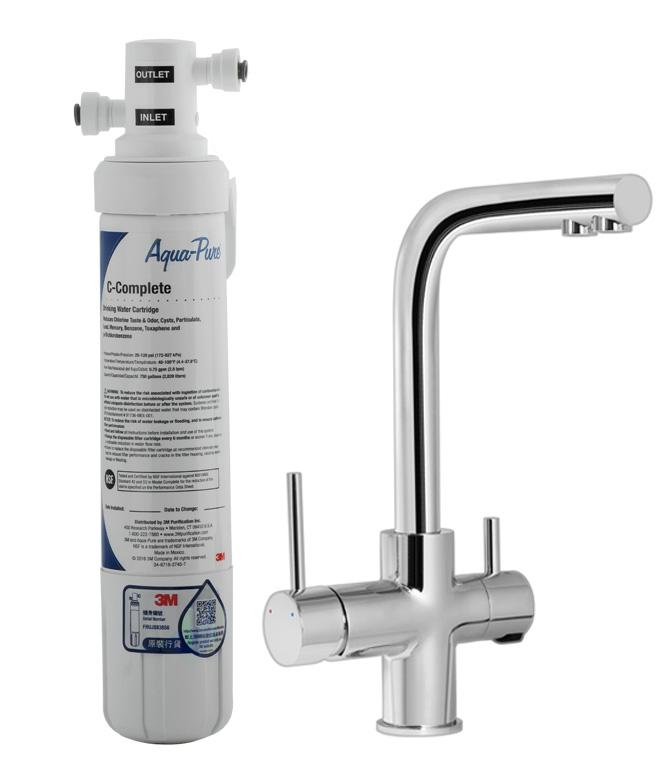 3M 全效型濾水器[三合一LED GA龍頭] AP EASY COMPLETE-GA