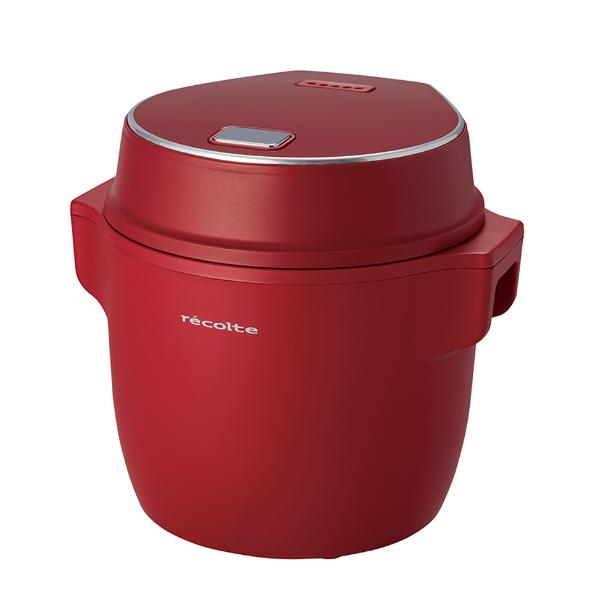 RECOLTE 電子鍋 RCR-1/R紅