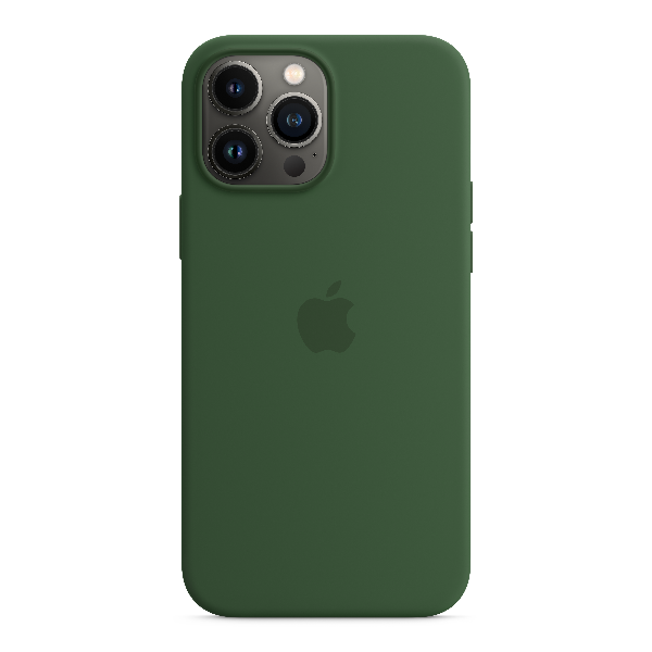 APPLE iPhone13 Pro Max Silicone Case with MagSafe-Clover