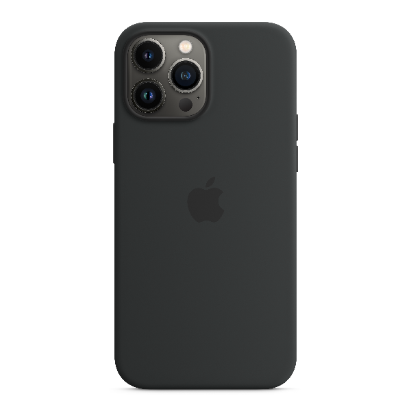 APPLE iPhone13 Pro Max Silicone Case with MagSafe-Midnight