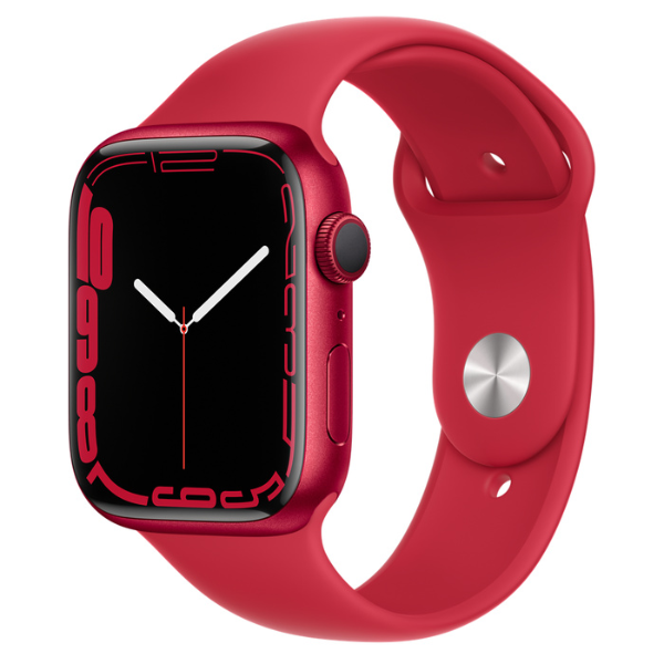 APPLE Watch S7 GPS 45mm RED/P Sport Band