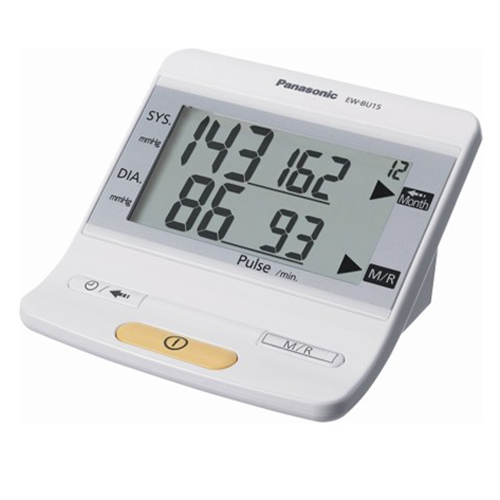 PANASONIC [S/i]手臂式電子血壓計 EW-BU15/W